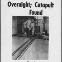 "1971-05-13 Iowa City Press-Citizen: """"Campus Quiet; Catapult Found"""""