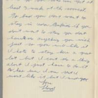 1942-09-10 Lloyd Davis to Laura Davis Page 2