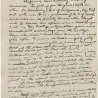 1918-05-19 Robert M. Browning To Dr. Mabel C. Williams Page 1