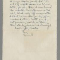 1942-08-24 Laura Davis to Lloyd Davis Page 8