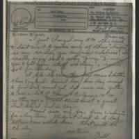 1945-04-08 Lt. William Perdock to Dave Elder