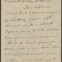 1918-02-17 Thomas Messenger to Mr. & Mrs. N.H. Messenger Page 1