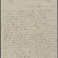 1918-06-14 Thomas Messenger to Mrs. Ress Wade Page 1