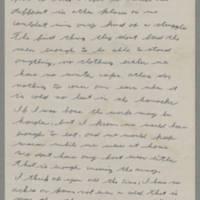 1943-01-10 Lloyd Davis to Laura Davis Page 2