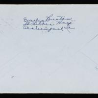 1946-02-24 Evelyn Burton to Carroll Steinbeck - Envelope back