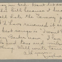 1918-07-17 Daphne Reynolds to Conger Reynolds Page 2
