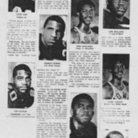"1968-12-17 Daily Iowan Article: ""UI's Black Athletes -- Some Happy Here, Others Not"" Page 3"