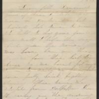 1863-10-20 Charles A. Gates to Mr. Arad Gates Page 1
