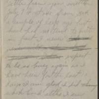 1918-08-04 Harvey Wertz to Mrs. L.A. Wertz Page 2