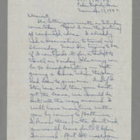 1942-11-17 Laura Davis to Lloyd Davis Page 1