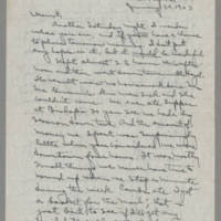 1943-01-30 Laura Davis to Lloyd Davis Page 1