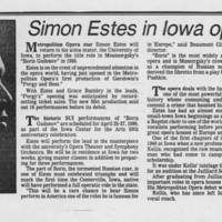 "1985-03-03 """"Simon Estes in Iowa opera"""""