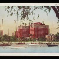 1944-07-11 Postcard - 'Belmont Harbor'