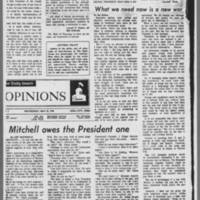 "1970-05-13 Daily Iowan Editorial: """"Strike!"""" Page 4"