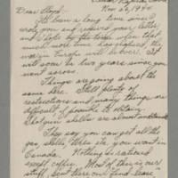 1944-11-26 Ray Steele to Lloyd Davis Page 1