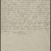 Undated letter to parents