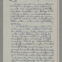 1942-09-11 Laura Davis to Lloyd Davis Page 1