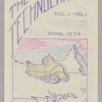 Technocrat, v. 1, issue 2, April 1939
