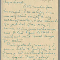 1918-02-17 Daphne Reynolds to Conger Reynolds Page 1