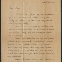 1945-04-26 Robert James Rohrer to Dave Elder