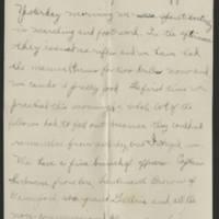 Thomas Messenger to Mrs. N.H. Messenger Page 2