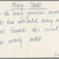 1982-10-23 Thank you card to Supporters of Take Back the Night Page 2