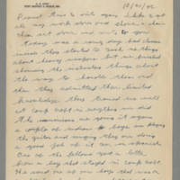 1942-10-21 Lloyd Davis to Laura Davis Page 1