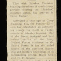 Clipping: Black Panthers Replace Iroquois Men At Rucker