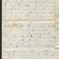 1862-02-17 Charles A. Gates to Mr. & Mrs. Arad Gates Page 2