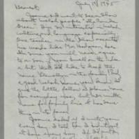 1945-07-19 Laura Davis to Lloyd Davis Page 1