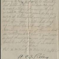 1918-05-16 Harvey Wertz to Miss Eloise Wertz Page 4