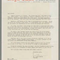 1964-05-01 Correspondence from Dr. Lionel Newsom