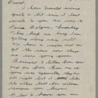 1945-05-05 Lloyd Davis to Laura Davis Page 1