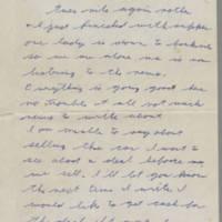 1942-01-27 Lloyd Davis to Laura Davis Page 1