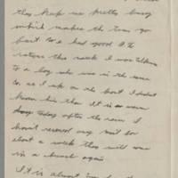 1943-11-18 Lloyd Davis to Laura Davis Page 2