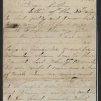 1863-08-02 Charles A. Gates to Mr. Arad Gates Page 1