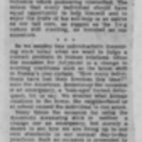 "1950-02-25 Burlington Hawkeye Gazette Article: ""Smorgasbord"""