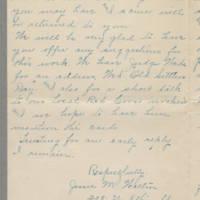 1917-09-08 Jessie M. Walton to Mrs. Francis N. Whitley Page 3