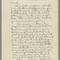 1941-10-31 Laura Davis to Lloyd Davis Page 1