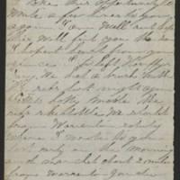 1862-11-18 Charles A. Gates to Mr. Arad Gates Page 1
