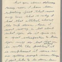 1942-08-01 Lloyd Davis to Laura Davis Page 1