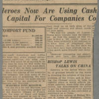 """1919-01-13 Des Moines Capital Clipping: """"""""To Get Back Home"""""""" Page 2"""