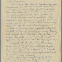 1942-05-29 Susie Hutchison to Laura Frances Davis Page 1