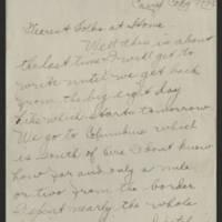 1918-05-05 Thomas Messenger to Mr. & Mrs. N.H. Messenger Page 1