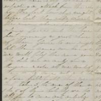 1863-03-14 Charles A. Gates to Mr. Arad Gates Page 2