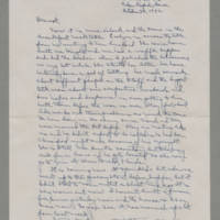 1942-10-29 Laura Davis to Lloyd Davis Page 1