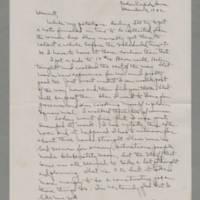 1942-12-14 Laura Davis to Lloyd Davis Page 1