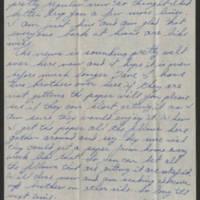 1945-02-25 Sgt. Forrest Mitchell to Dave Elder Page 1