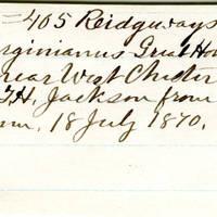 Clinton Mellen Jones, egg card # 906