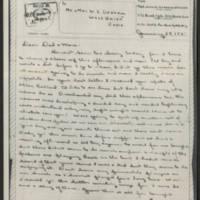 1945-01-24 John W. Graham to Mr. & Mrs. W.J. Graham Page 1